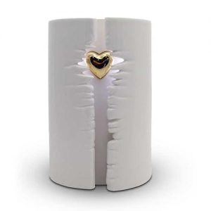 Keramik Urne Zylinder
