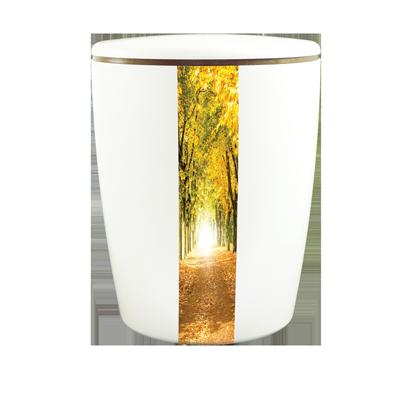 Naturstoff Urne Solide Line Creative Vertikal - Wald