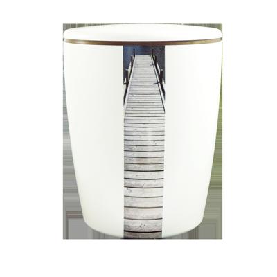 Naturstoff Urne Solide Line Creative Vertikal - Stufen