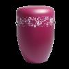 Naturstoff Urne - Designerurne rot