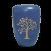 Naturstoff Urne – Friedensbaum marine