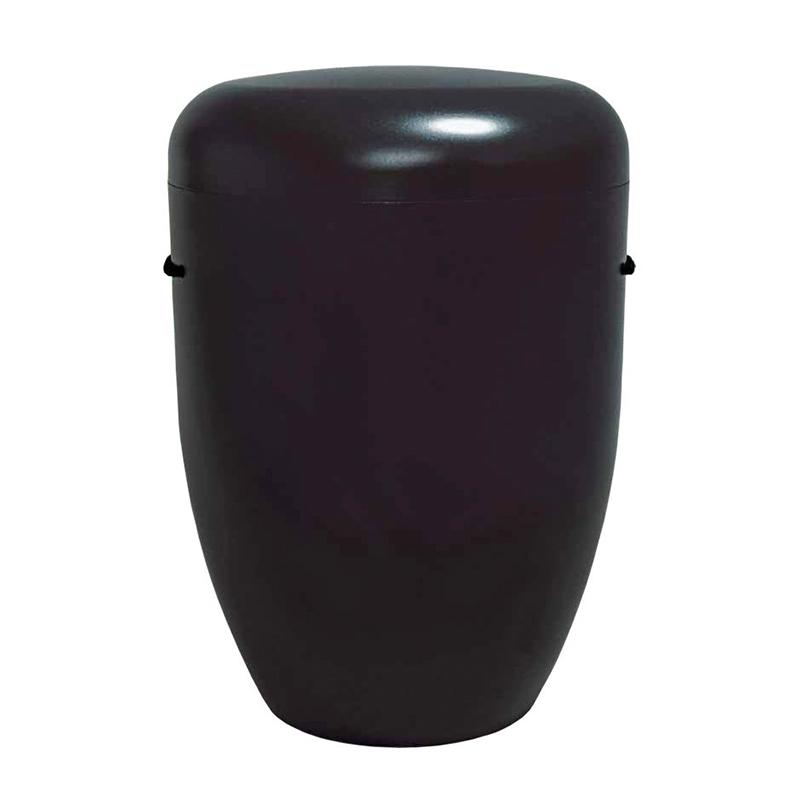 Naturstoff Urne – Basic (schwarz)