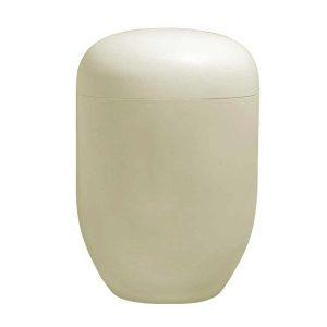 Naturstoff Urne – Basic (sandfarbig)
