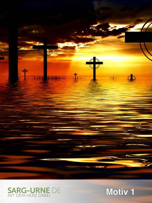 Trauerbilder - Motive Religion (Hochformat)