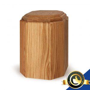 Urne-Bio-Holz-Eiche-Blanko