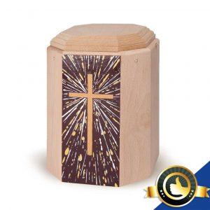 Urne-Bio-Holz-Imago-Kreuz