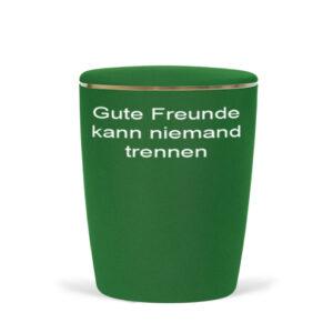 Naturstoff-Fußball-Urne-grün/weiß-1
