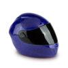 Motorradhelm-urne-blau-keramik