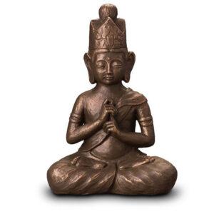 Urne-Buddha-bronze