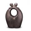 Urne-verbundenheit-silber-keramik