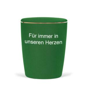 Naturstoff-Fußball-Urne-grün/weiß-4