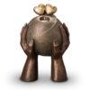 Keramikurne Bronze