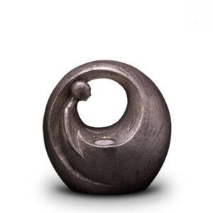 Keramikurne Silber - Leere