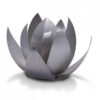 Metallurne - Lotus - silber