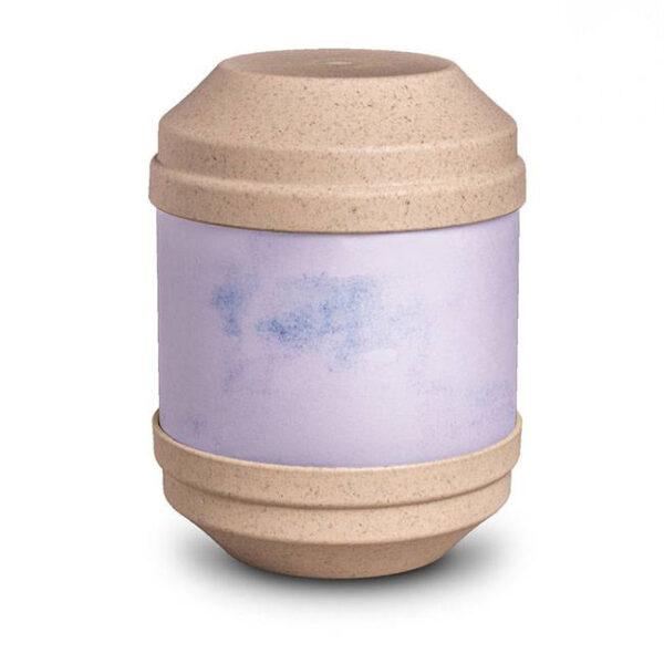 Bio Urne Art - beige - zum selbst gestalten