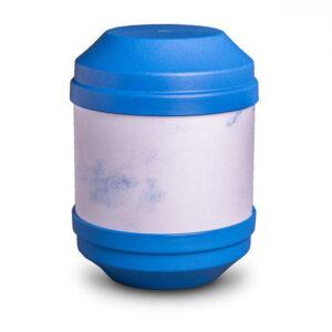 Bio Urne Art - blau - zum selbst gestalten