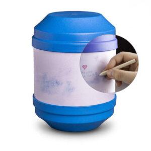 Bio Urne Art - blau - zum selbst gestalten1