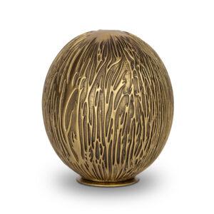Bio Urne Goldkugel - gold