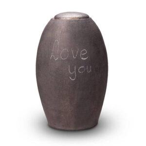 Keramikurne zum selbst gestalten mit Kreide
