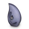 Tropfenform Urne aus Keramik - dunkelblau