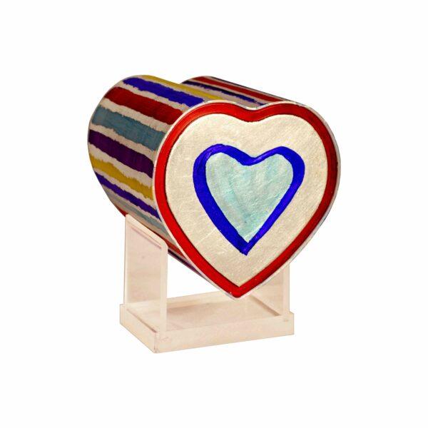 Kinderurne-Herz-bunte-Streifen-Herz