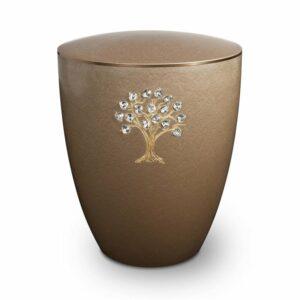 Gravur-Urne-Lebensbaum-Kastanie-mit-dekorring-gold-3mm