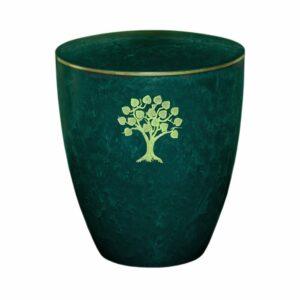 Gravur-Urne-Lebensbaum-gruen-mit-dekorring-gold-3mm
