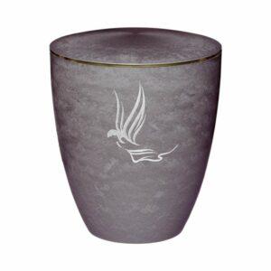 Gravur Urne - Engel - Silber - 3mm