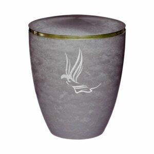 Gravur Urne - Engel - Silber - 9mm