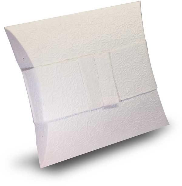 Bio Urne Papier weiß