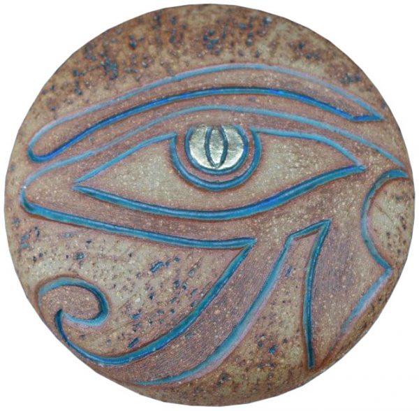 Keramik Urne mit Motiv Auge des Ra. EXCLUSIV BEI UNS!
