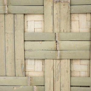 Bambus-Sarg Lattice Rund