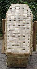 Bambus-Sarg Lattice Traditionell