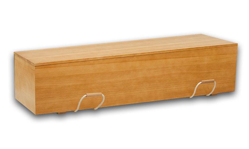 Kiefernsarg, Modell Rom in Honigfarben